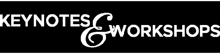 Keynotes and Workshops Logo
