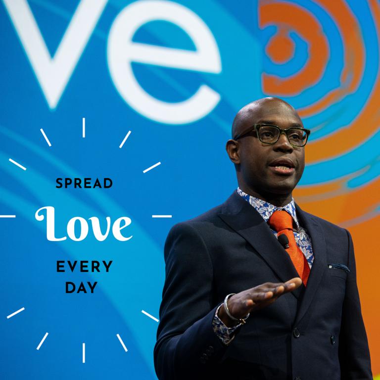 Spread Love Everyday Graphic