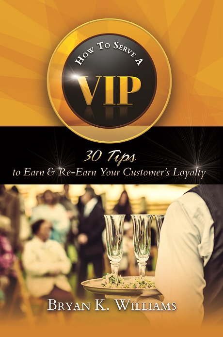 How To Serve A VIP Front Book Cover