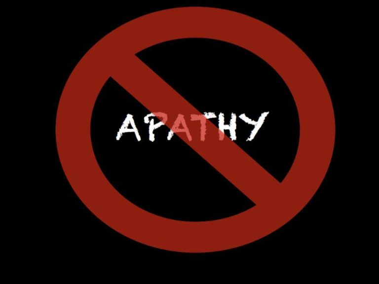 No Apathy Graphic