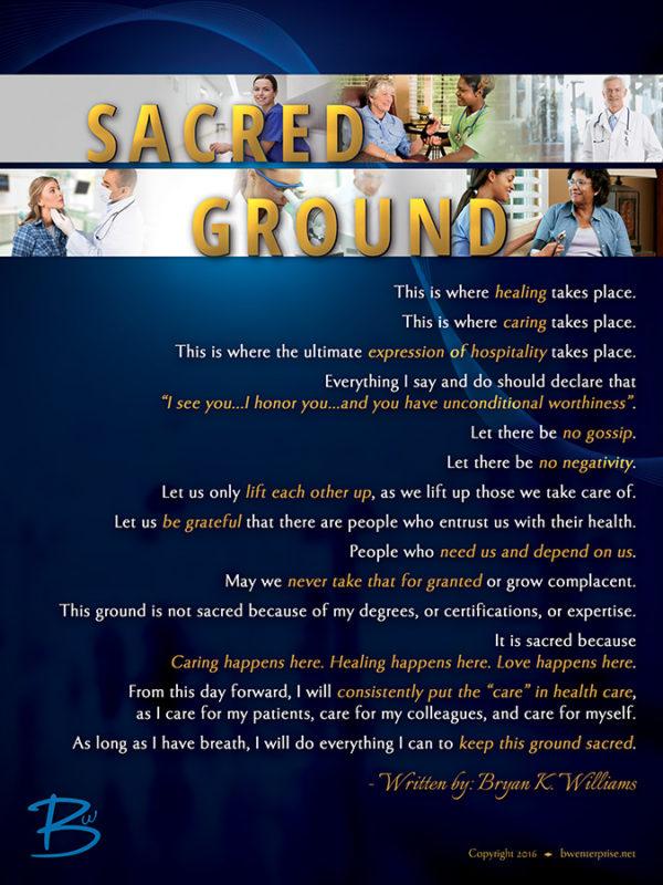 Sacred Ground Hospital Poster