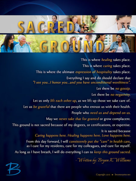 Sacred Ground Long Term Care Poster