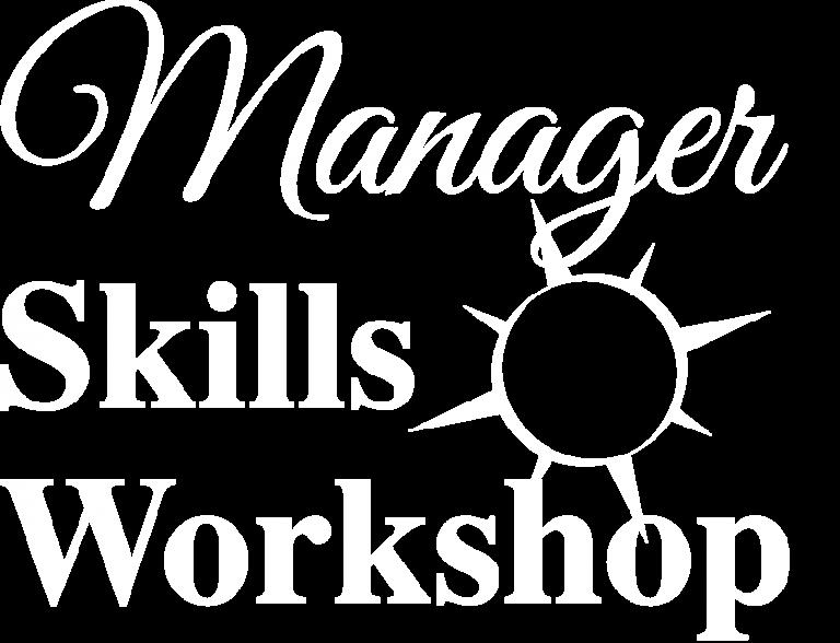 Manager Skills Workshop Logo